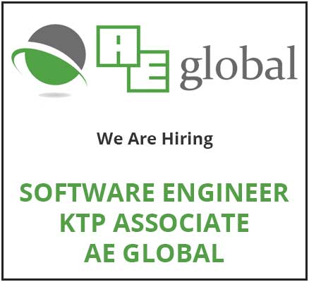Job Advertisement - Software Engineer - KTP Associate AE Global
